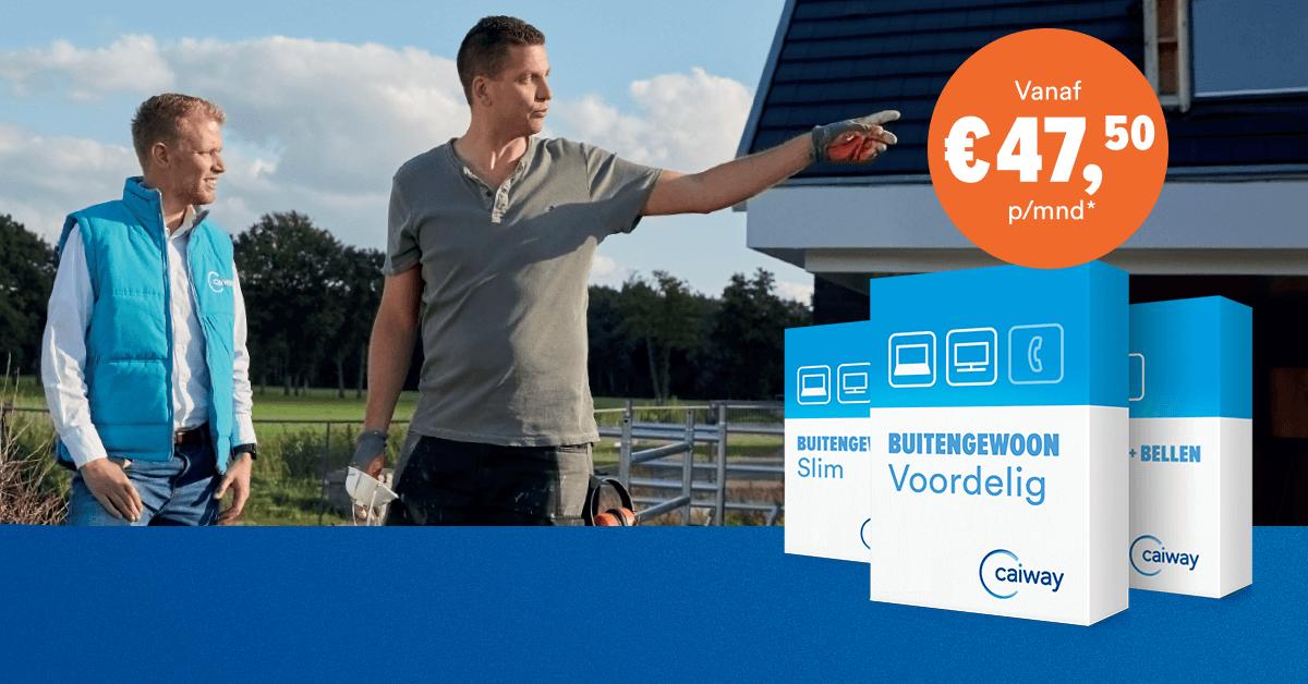 Snel en stabiel glasvezel internet vanaf € 47.50